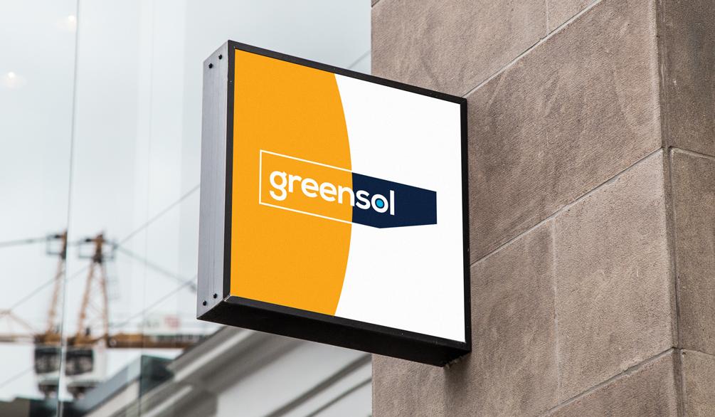 Greensol Brand Identity